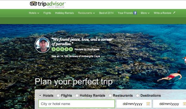TripAdvisor, turismo online